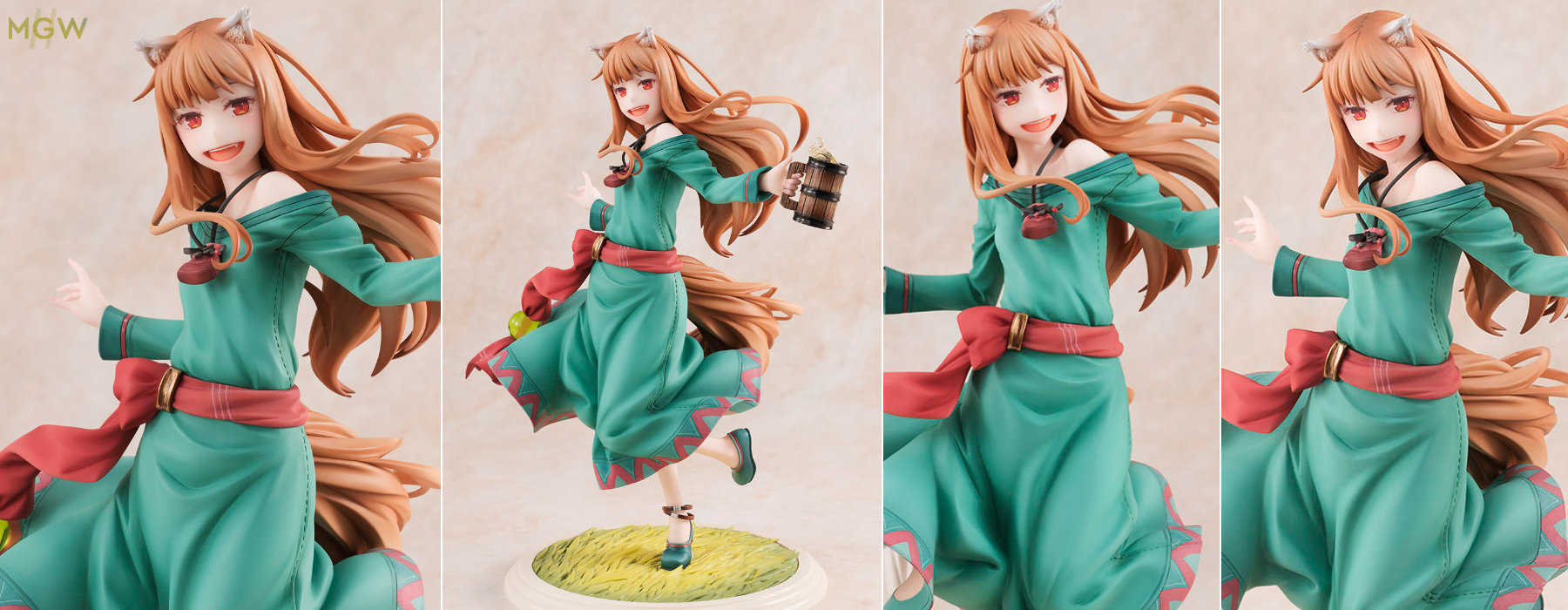 Holo Spice and Wolf 10th Anniversary Ver. by REVOLVE from Spice and Wolf MyGrailWatch Anime Figure Guide