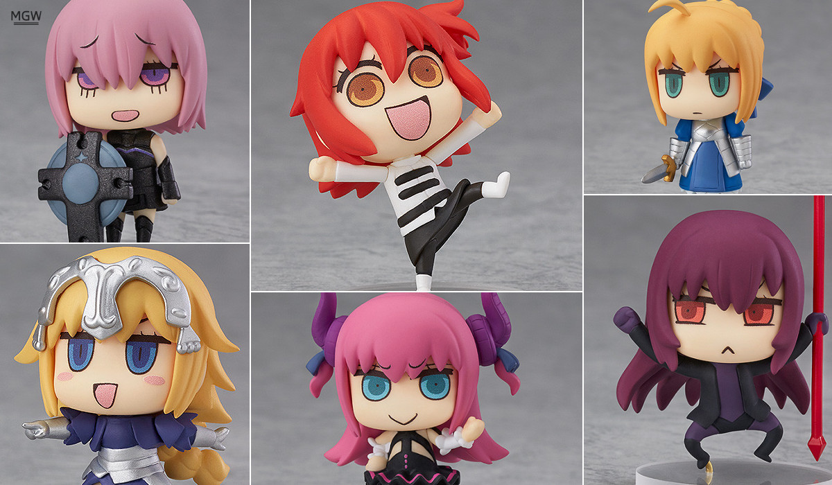 Learning with Manga! Fate/Grand Order Collectible Figures Header