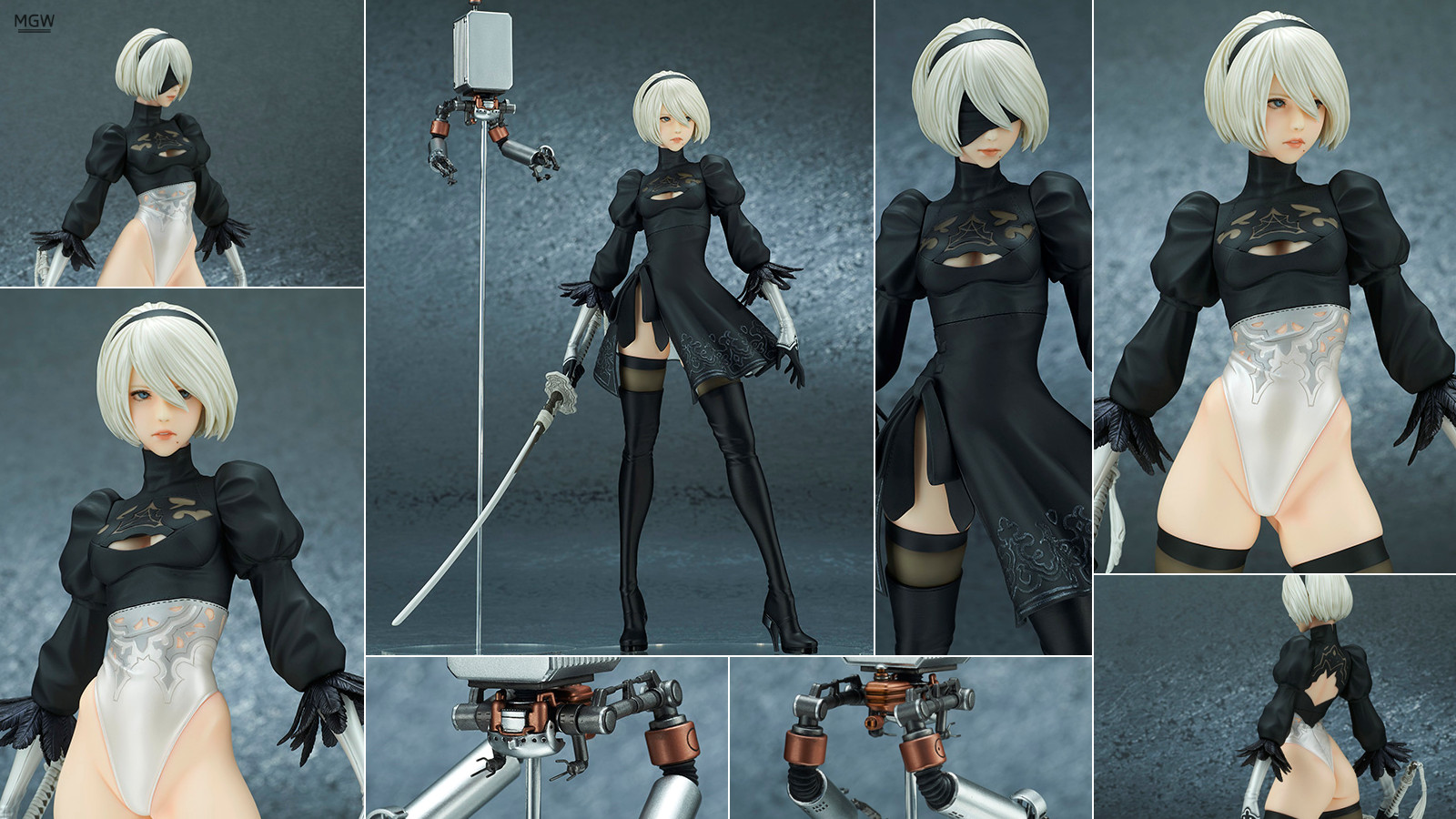 YoRHa No.2 Type B (DX ver.) by SQUARE-ENIX Header