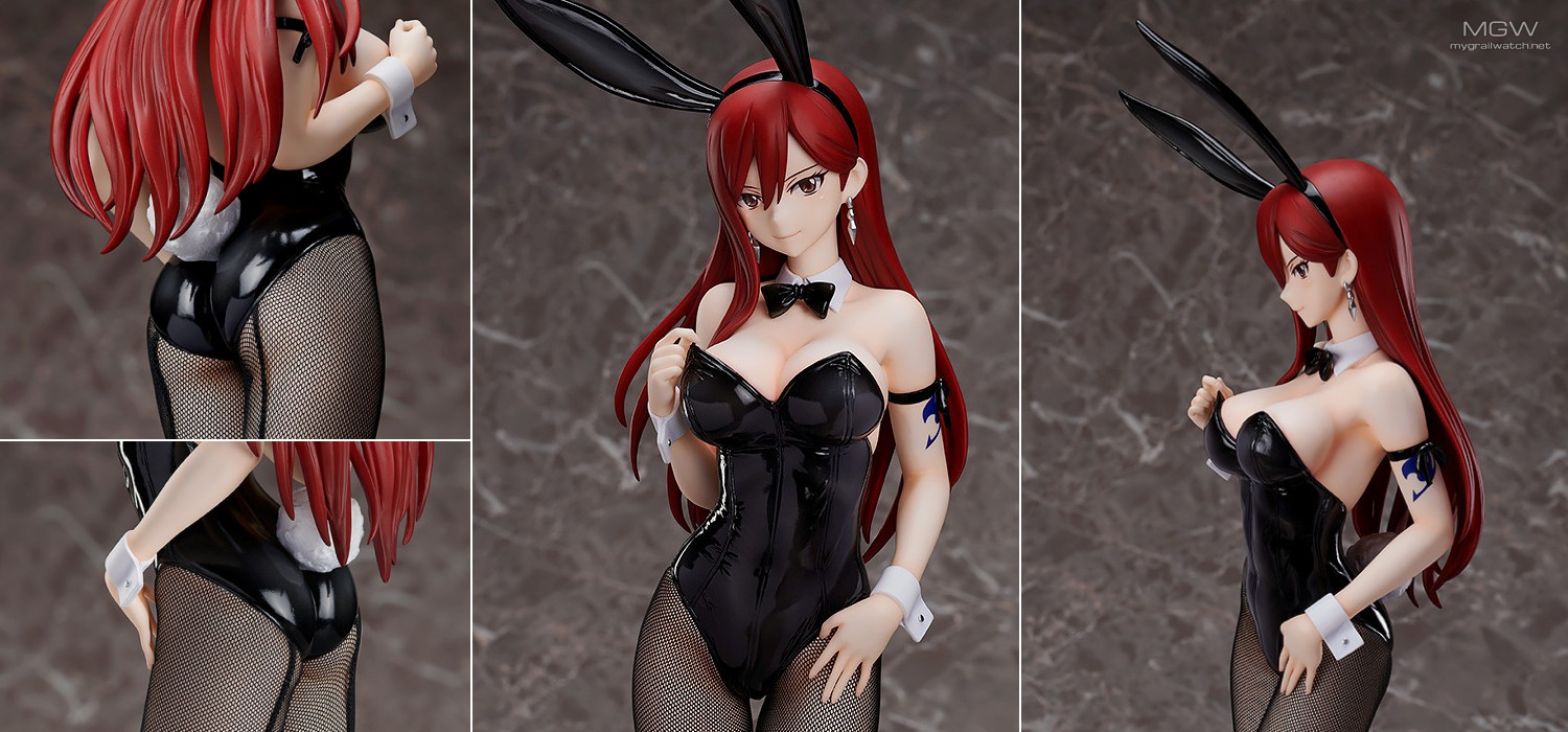 Erza Scarlet Bunny Ver. by FREEing from FAIRY TAIL