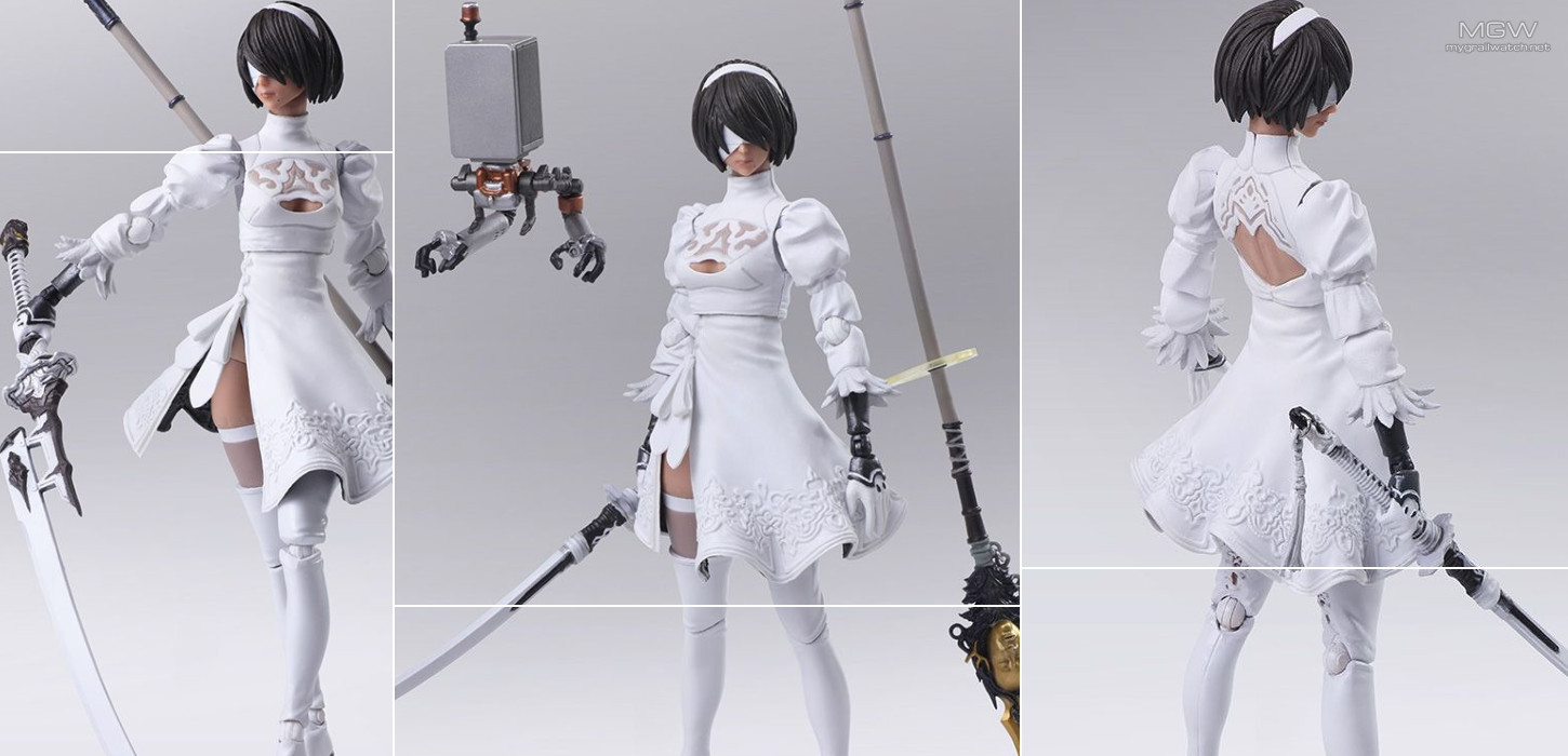 BRING ARTS 2B (YoRHa No. 2 Type B) 2.0 -2P Color Variant-