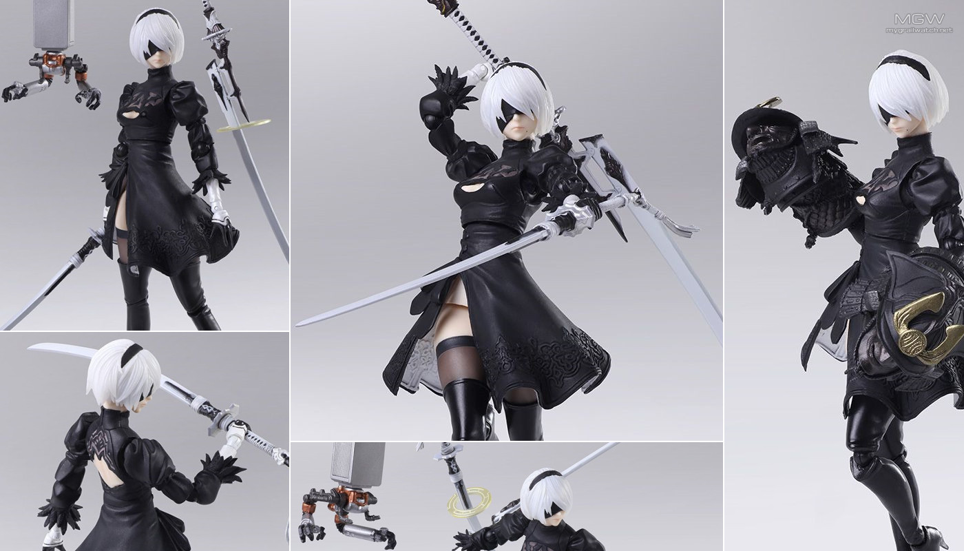 BRING ARTS 2B (YoRHa No. 2 Type B) 2.0 from NieR: Automata