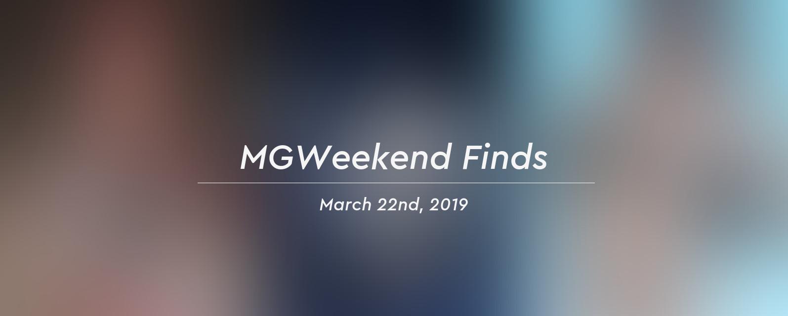mgw finds 2019 03 22 header