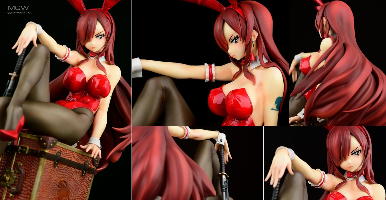 Erza Scarlet Bunny girl_Style/type rosso by OcaToys from FAIRY TAIL MGW Header