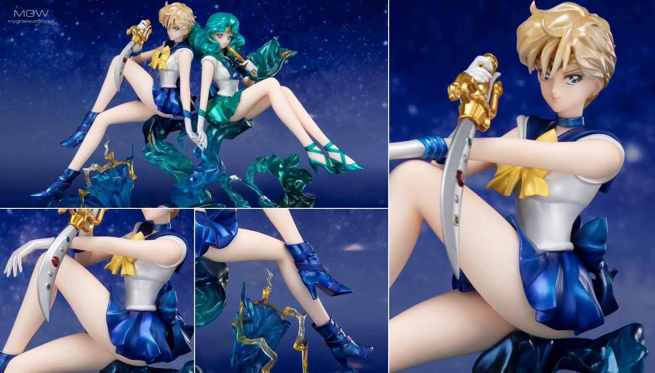 Figuarts Zero chouette Sailor Uranus by BANDAI SPIRITS from Pretty Guardian Sailor Moon