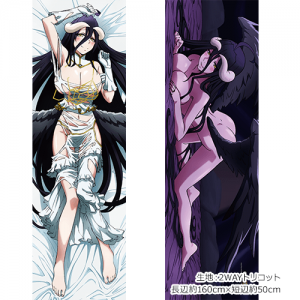 MGWeekend Finds May 11th, 2019 - Overlord II Albedo Dakimakura Cover 2WAY Tricot available at Curtain Damashii 1