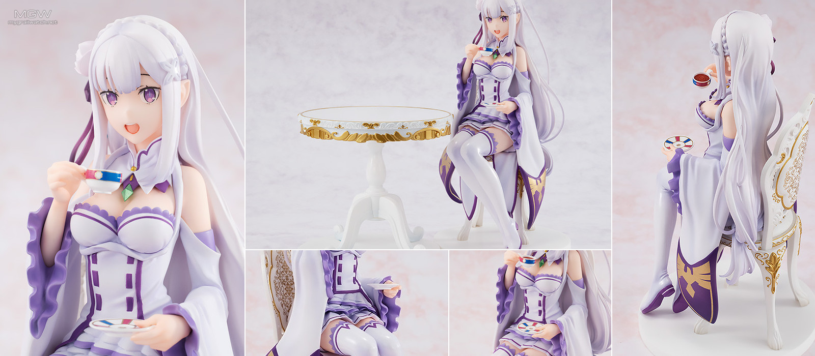 Emilia Tea Party ver. by KADOKAWA from Re:ZERO - Starting Life in Another World -