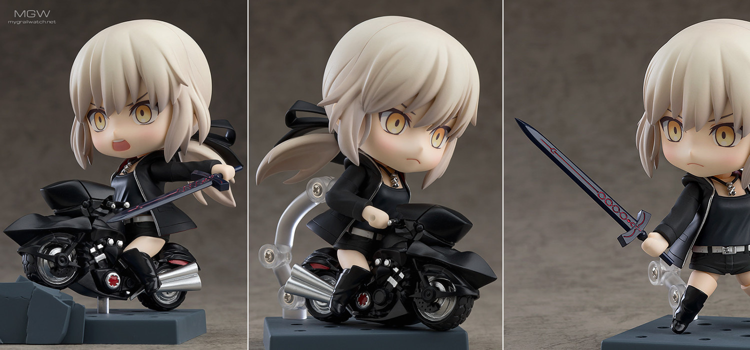 Nendoroid Saber/Altria Pendragon (Alter) Shinjuku Ver. & Cuirassier Noir by Good Smile Company from Fate/Grand Order