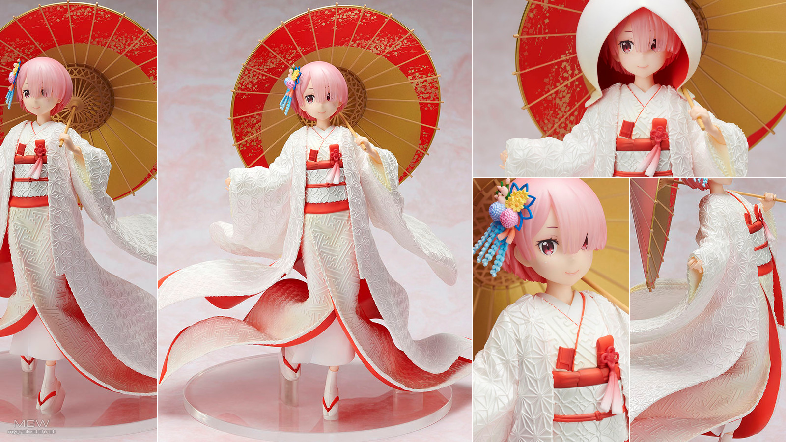 Ram White Kimono by FuRyu from ReZERO Starting Life in Another World