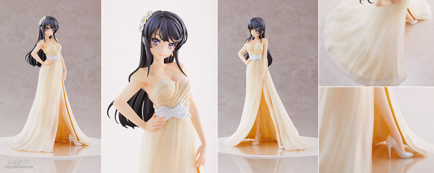 Sakurajima Mai Wedding ver. by Aniplex from Seishun Buta Yarou