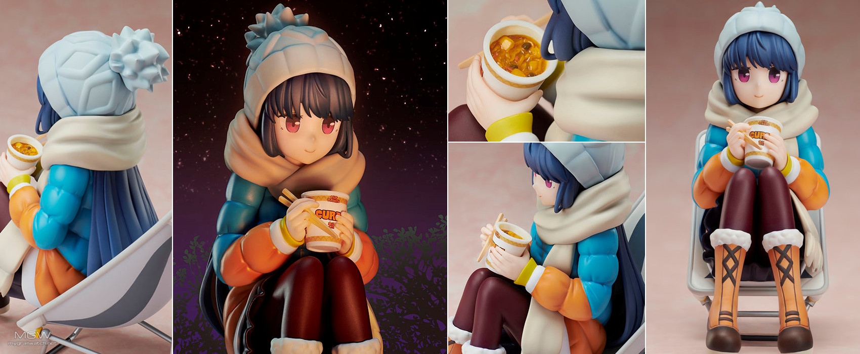 Shima Rin Premium Noodle Stopper by FuRyu from Yuru Camp