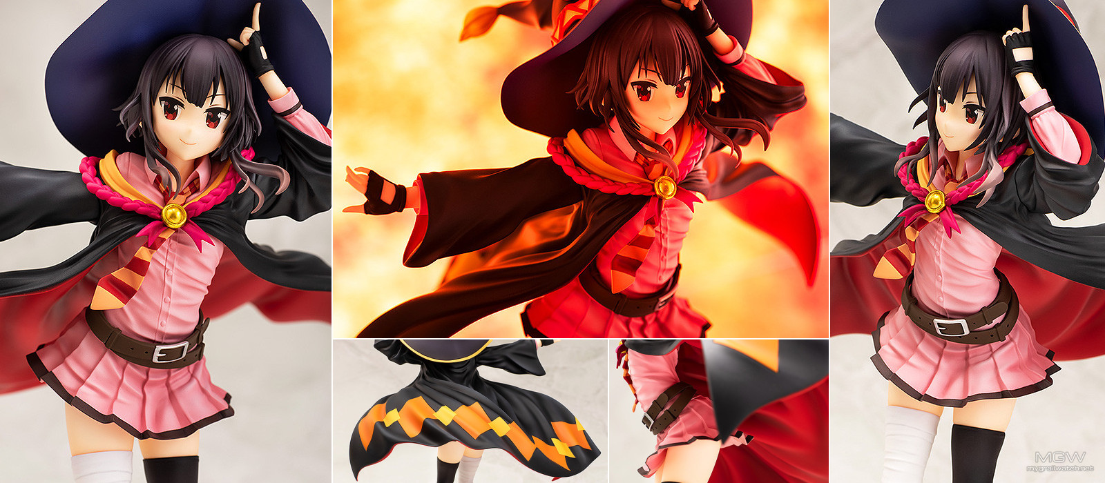 Megumin School Uniform Ver. by Chara Ani from KonoSuba Legend of the Crimson
