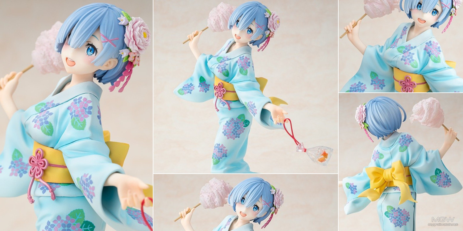 Rem Yukata Ver. Repaint by KADOKAWA from ReZero Starting Life in Another World
