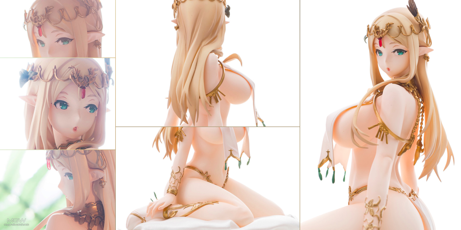 Elven Pillow Lilly Relium by I.V.E from Caress of Venus houtengeki figure collection