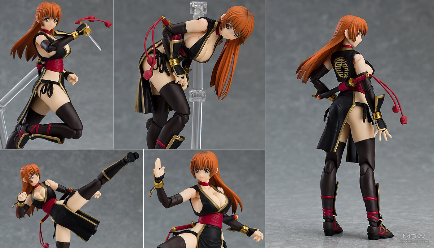 Kasumi C2 Black ver. by Max Factory from Dead or Alive
