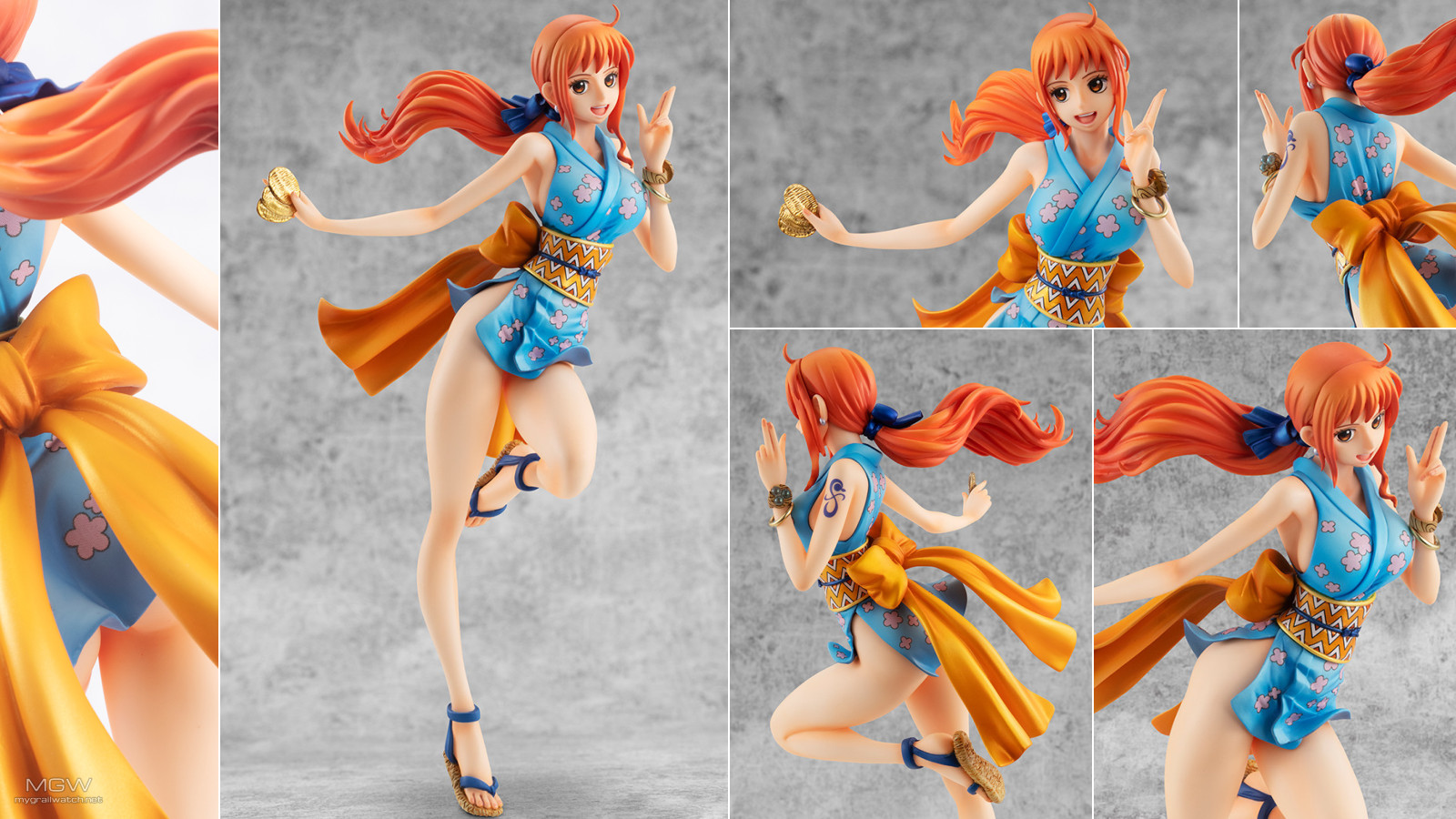 Portrait.Of .Pirates Novice Kunoichi O nami by MegaHouse from One Piece