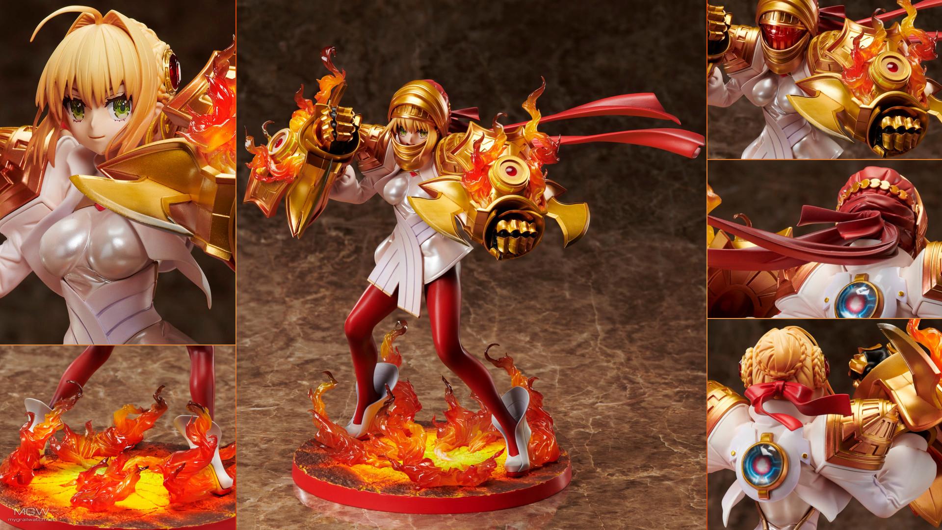 Fate EXTELLA Saber Regalia Nero Claudius Shinka Gekiteki STATUE 01