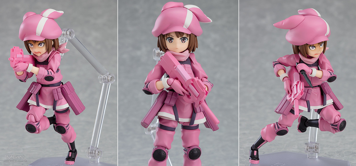 figma LLEN from Sword Art Online Alternative Gun Gale Online
