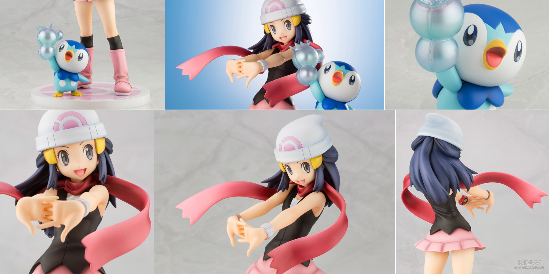 ARTFX J Dawn with Piplup by Kotobukiya from Pokemon