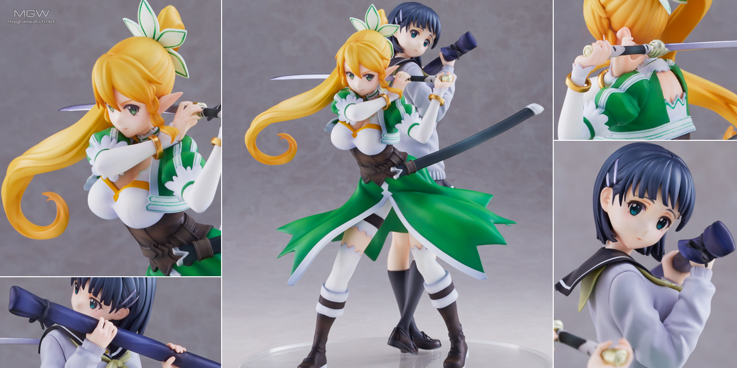 Sword Art Online Leafa & Kirigaya Suguha Pair by Union Creative MGW Header