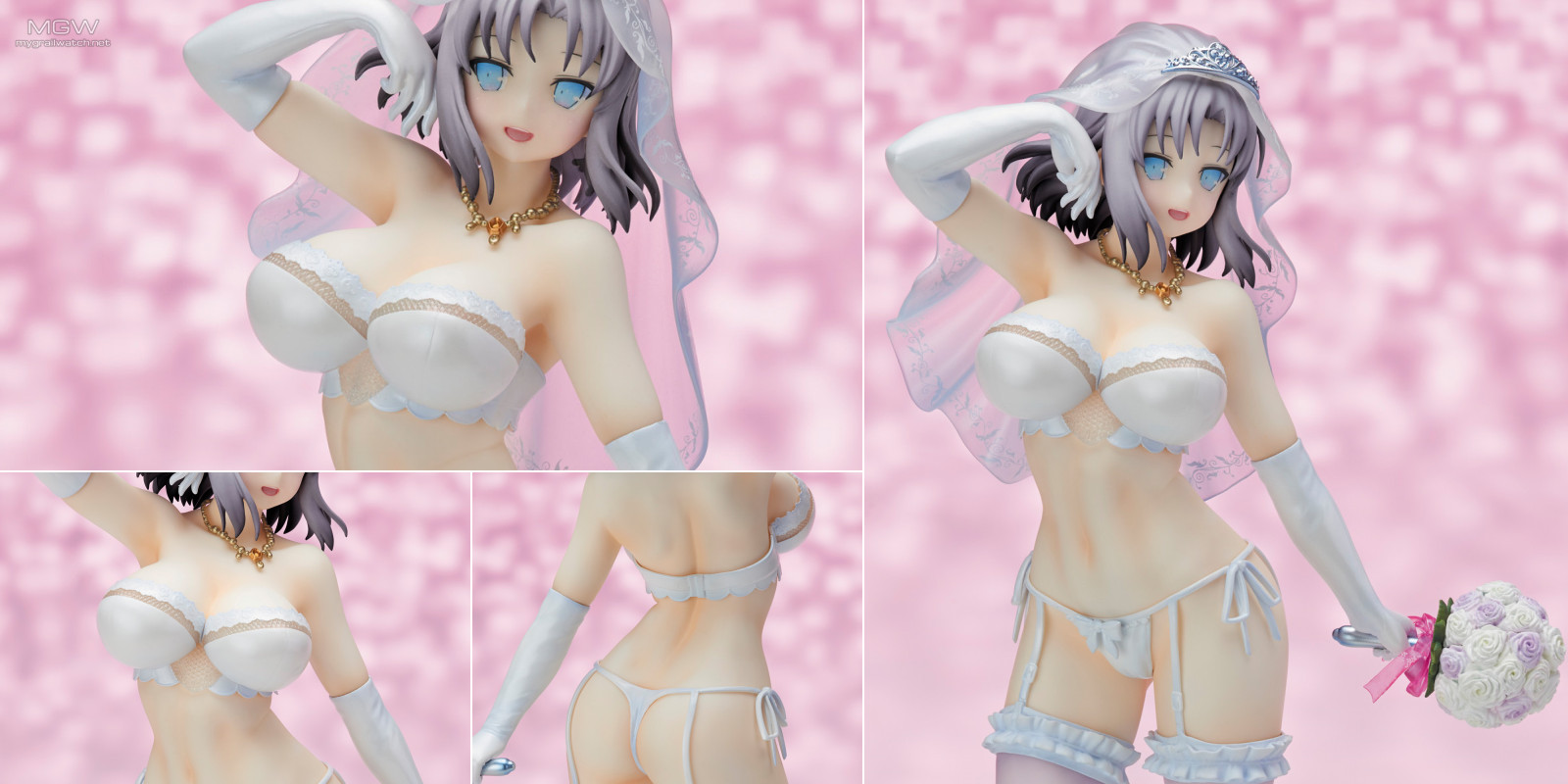 Yumi Wedding Lingerie Ver. Reprint Edition by PROOVY from Senran Kagura NEW WAVE G Burst