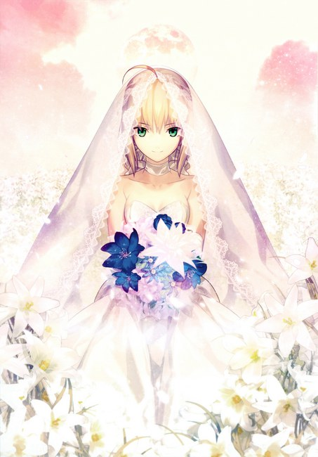 Saber 10th Royal Dress ver. original illustration