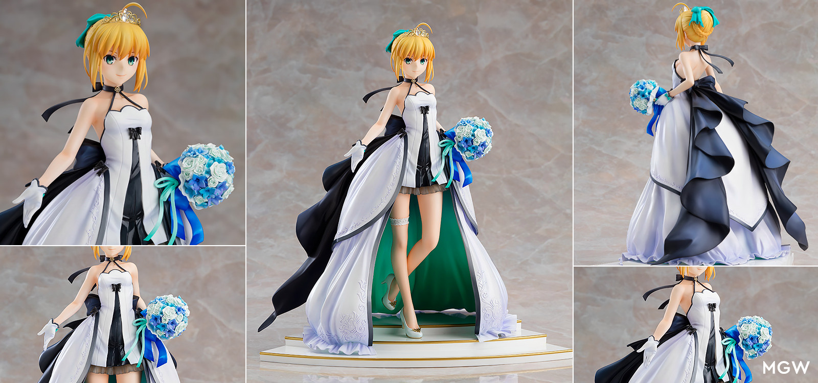 Saber ~15th Celebration Dress Ver.~ by Good Smile Company from Fate/stay night MGW Header
