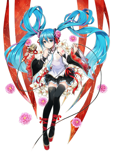 MIKU EXPO 2019 Taiwan & Hong Kong Original Illustration by Ordan