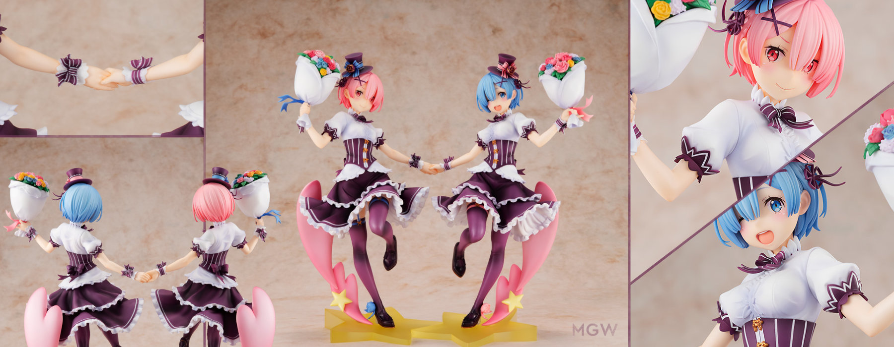 Ram & Rem Birthday Ver. Complete Set by KADOKAWA from Re:ZERO -Starting Life in Another World- MGW Header