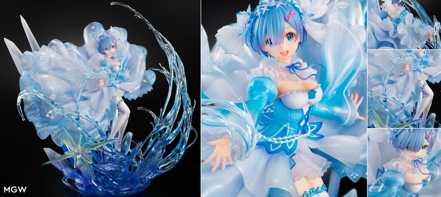 Rem Crystal Dress Ver. by SHIBUYA STREAM FIGURE from ReZERO Starting Life in Another World