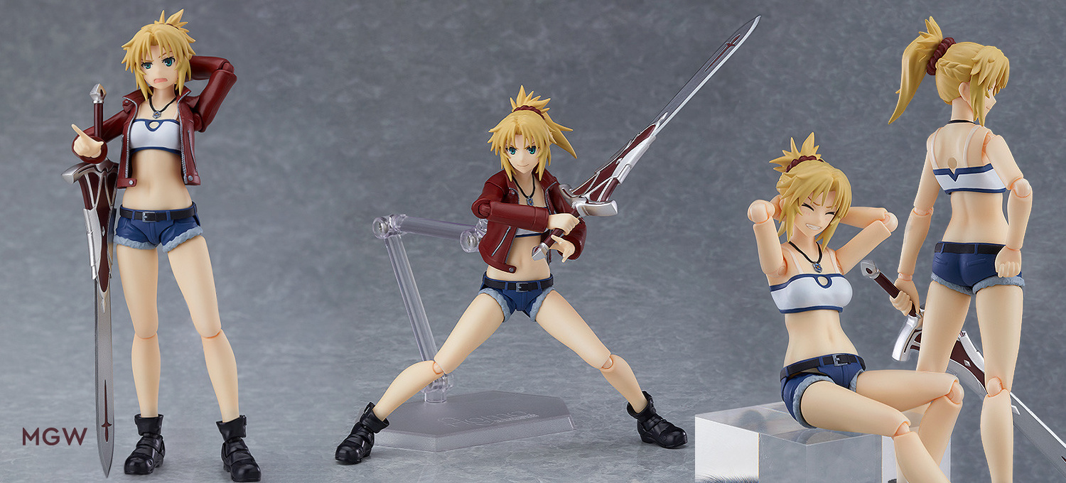 "figma Saber of ""Red"" Casual Ver. by Max Factory from Fate/Apocrypha MGW Header"