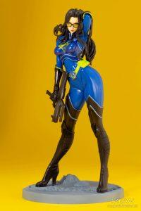 G.I. JOE Bishoujo Baroness 25th Anniversary Blue Limited Edition by Kotobukiya 7
