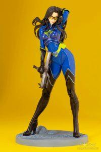 G.I. JOE Bishoujo Baroness 25th Anniversary Blue Limited Edition by Kotobukiya 8