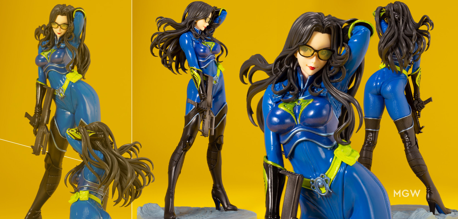 G.I. JOE Bishoujo Baroness 25th Anniversary Blue Limited Edition by Kotobukiya