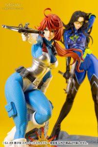 G.I. JOE Bishoujo Scarlett Sky Blue Limited Edition by Kotobukiya 13