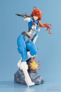 G.I. JOE Bishoujo Scarlett Sky Blue Limited Edition by Kotobukiya 9