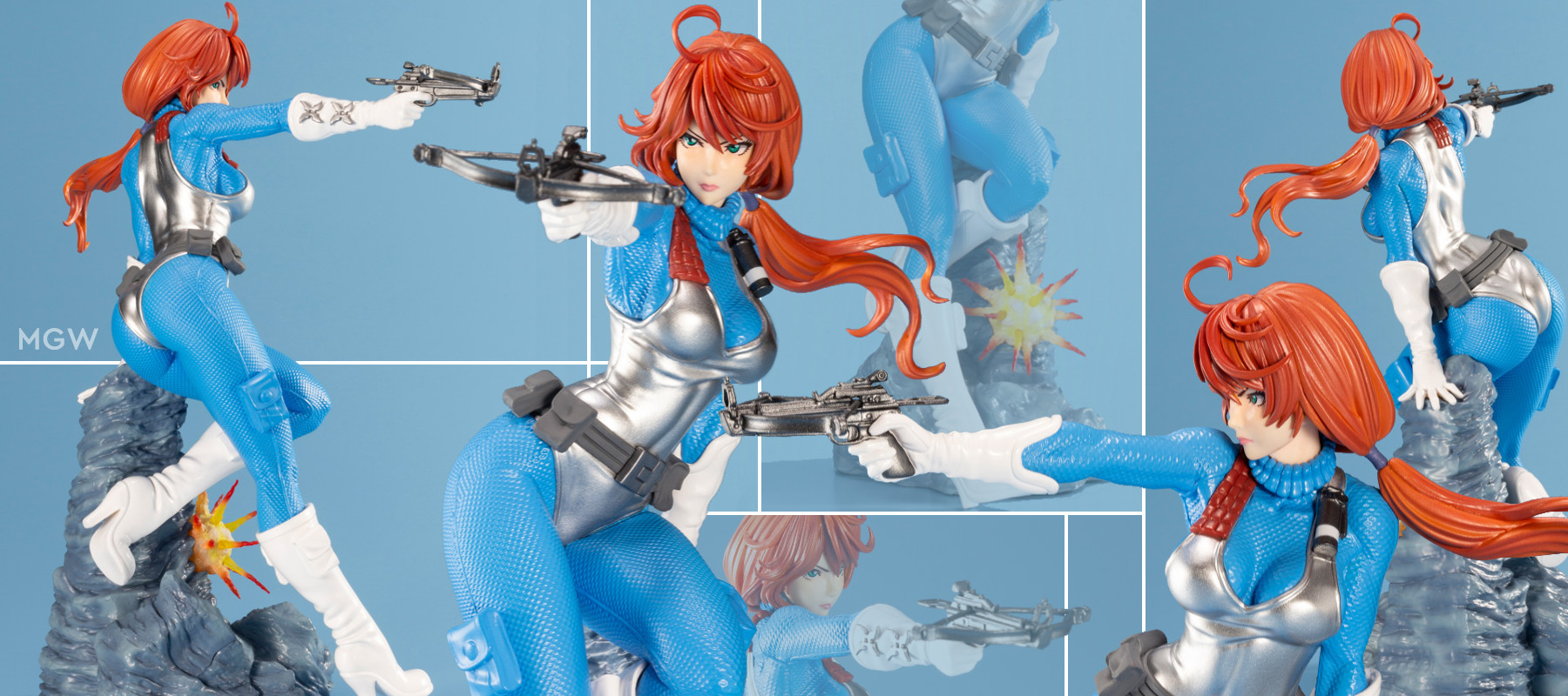 G.I. JOE Bishoujo Scarlett Sky Blue Limited Edition by Kotobukiya