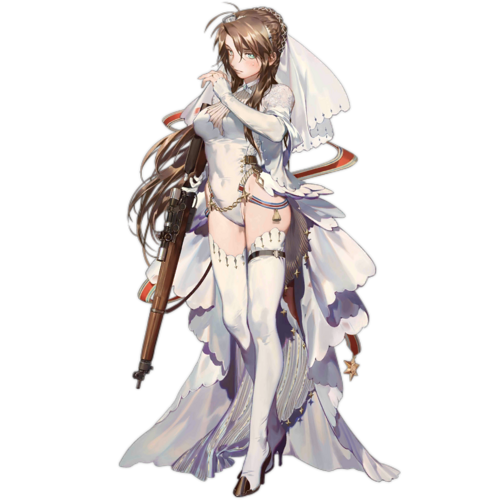 Lee Enfield Lifelong Protector Ver. original illustration by rei