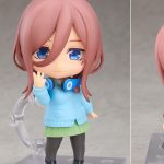 Nendoroid Miku Nakano by Good Smile Company from The Quintessential Quintuplets 5Toubun no Hanayome