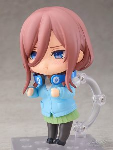 Nendoroid Miku Nakano by Good Smile Company from The Quintessential Quintuplets 5Toubun no Hanayome 3