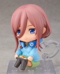 Nendoroid Miku Nakano by Good Smile Company from The Quintessential Quintuplets 5Toubun no Hanayome 5