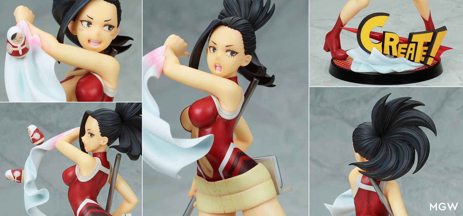 Yaoyorozu Momo Hero Suit Ver. by BellFine from My Hero Academia