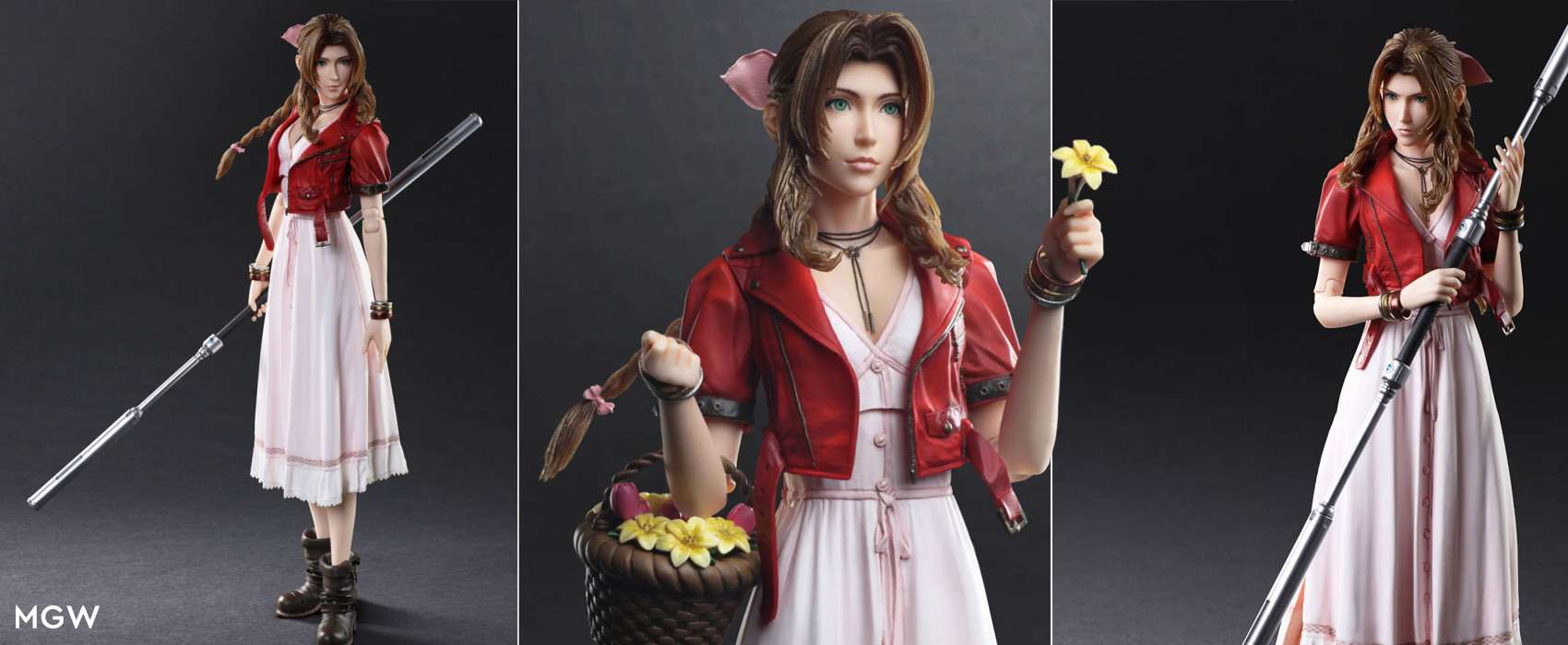 Final Fantasy VII Remake PLAY ARTS KAI Aerith Gainsborough by SQUARE ENIX