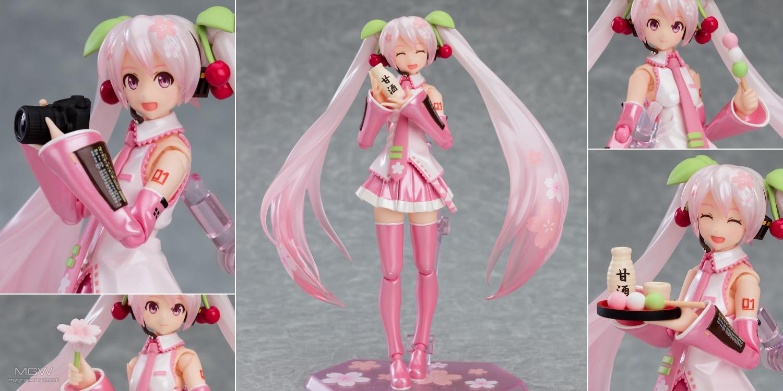 figma Sakura Miku by Max Factory