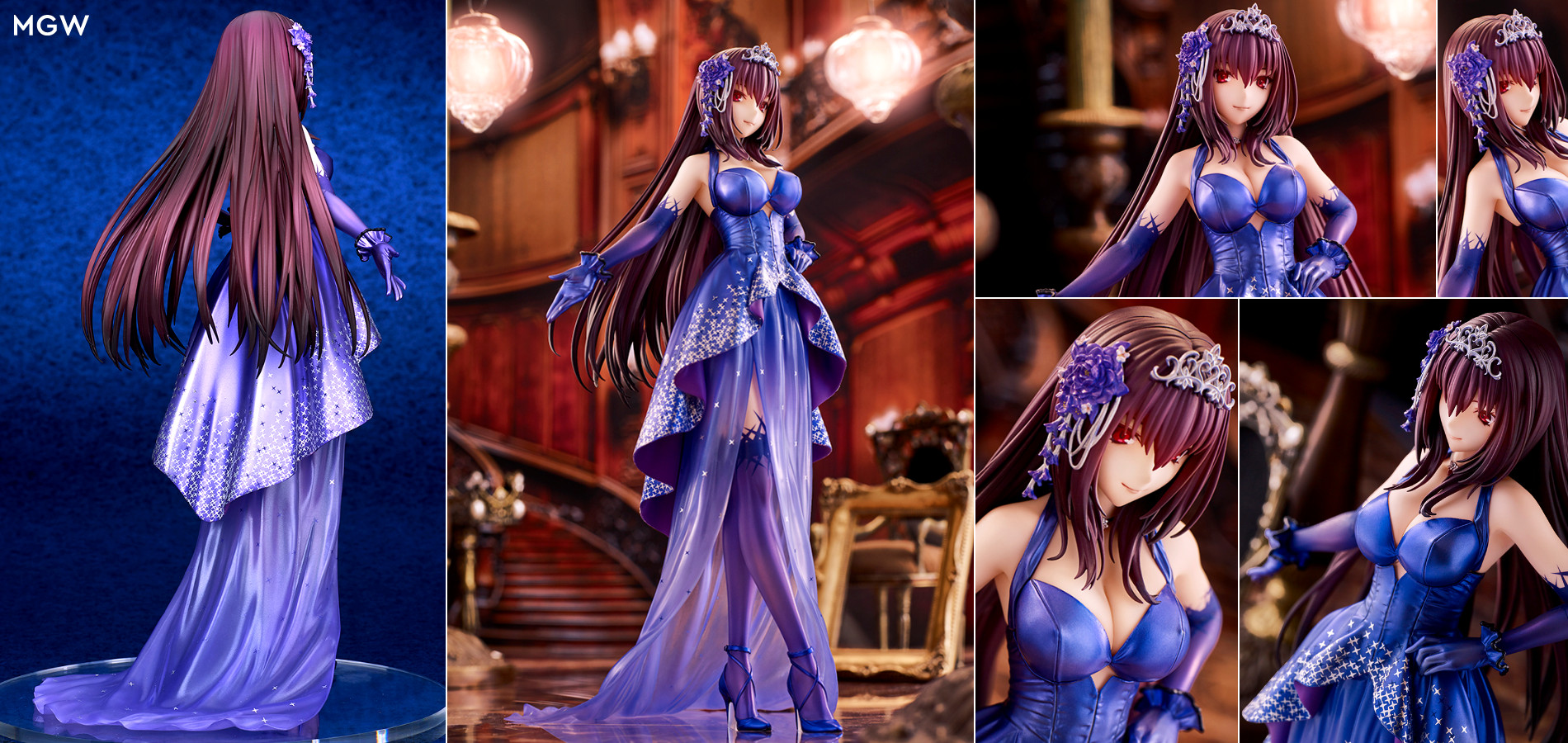 Lancer/Scáthach Heroic Spirit Formal Dress by quesQ from Fate/Grand Order Anime Figure Header