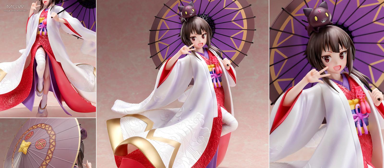 Megumin White Kimono by FuRyu from KonoSuba