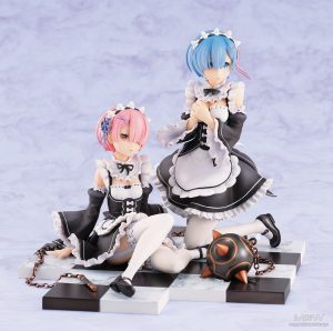 Ram & Rem Special Base Complete Set Ver. by REVOLVE from Re:ZERO Starting Life in Another World 2