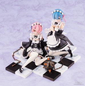 Ram & Rem Special Base Complete Set Ver. by REVOLVE from Re:ZERO Starting Life in Another World 4