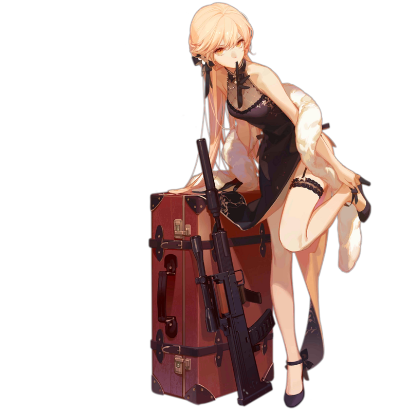 OTs 14 Crassula Volkensii illustration by ASK from Girls Frontline