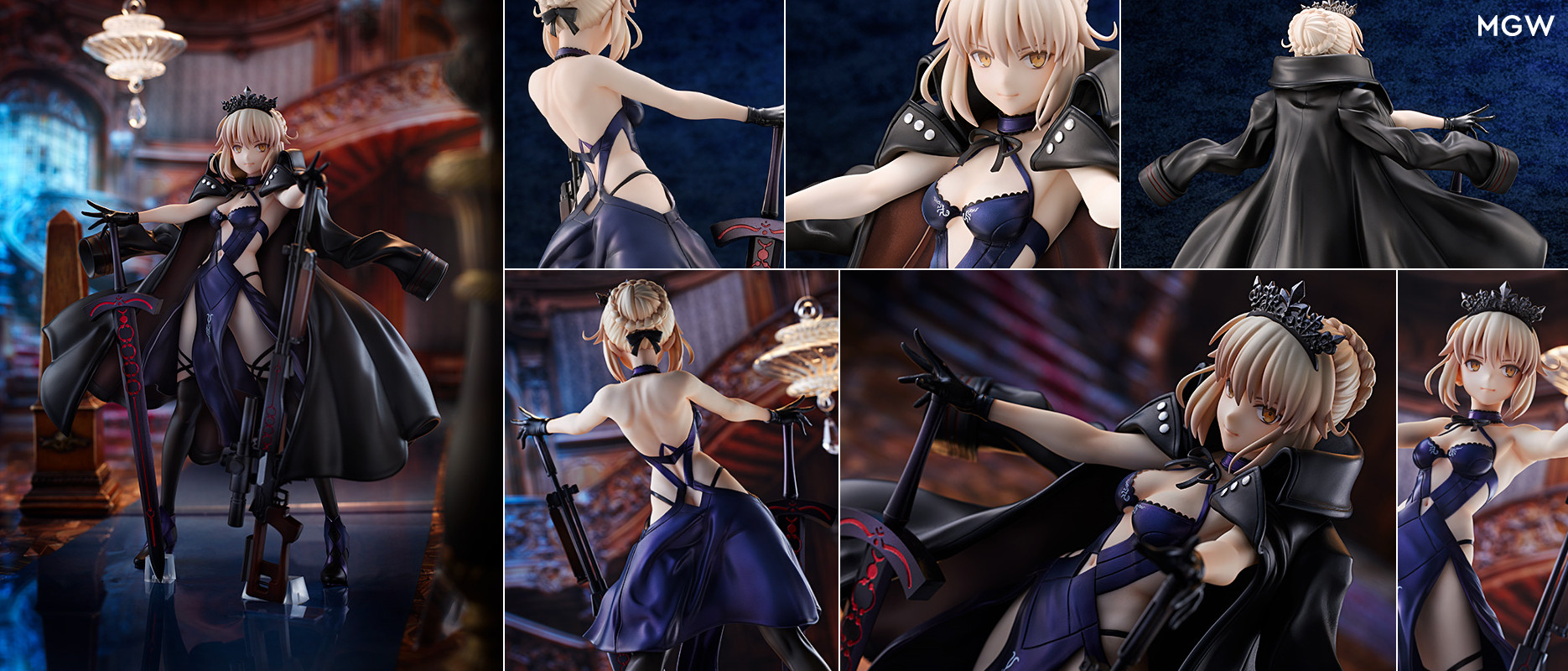 Rider/Altria Pendragon [Alter] by AMAKUNI from Fate/Grand Order MyGrailWatch Anime Figure Pre-order Guide
